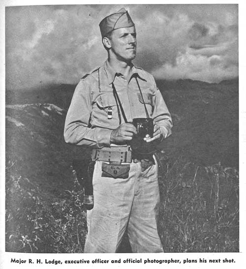 R.H. Lodge, Division Overser of Oahu Sugar Company tells his story of December 7, 1941.  Lodge was also a brilliant photographer, and many of his works fill the publication Waipahu at War, which he compiled.