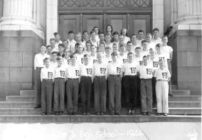 Whatcom Jr High Boys Glee Club 1944