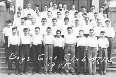 Whatcom Jr High Boys Glee Club 1945
