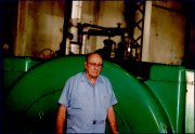 Jack Vorfeld at Oahu Sugar Company, Christmas holiday 1994-1995