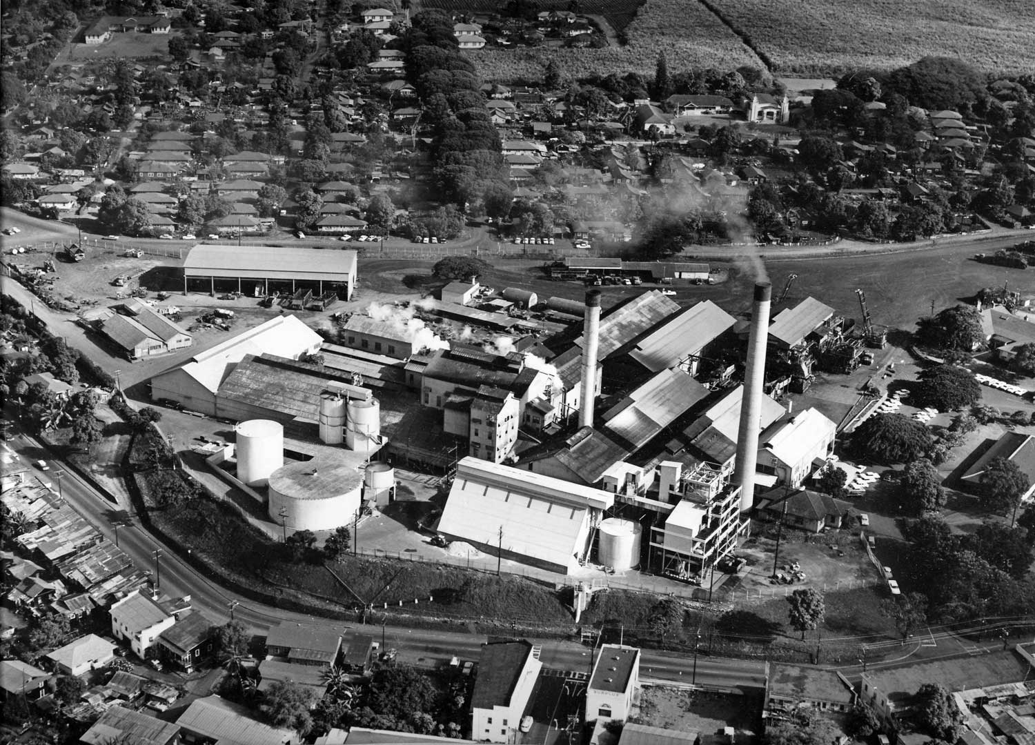 photo of Oahu Sugar Company 1966  Photo by PHOTO HAWAII, 843 Fort Street, Honolulu 13, Hawaii, U.S.A.