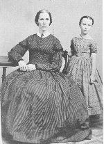 Little Betsy Shaw with her mother, Susan Davis Shaw